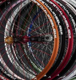 Perpetual wheel Roue ppw avant 20T-700c- rouge