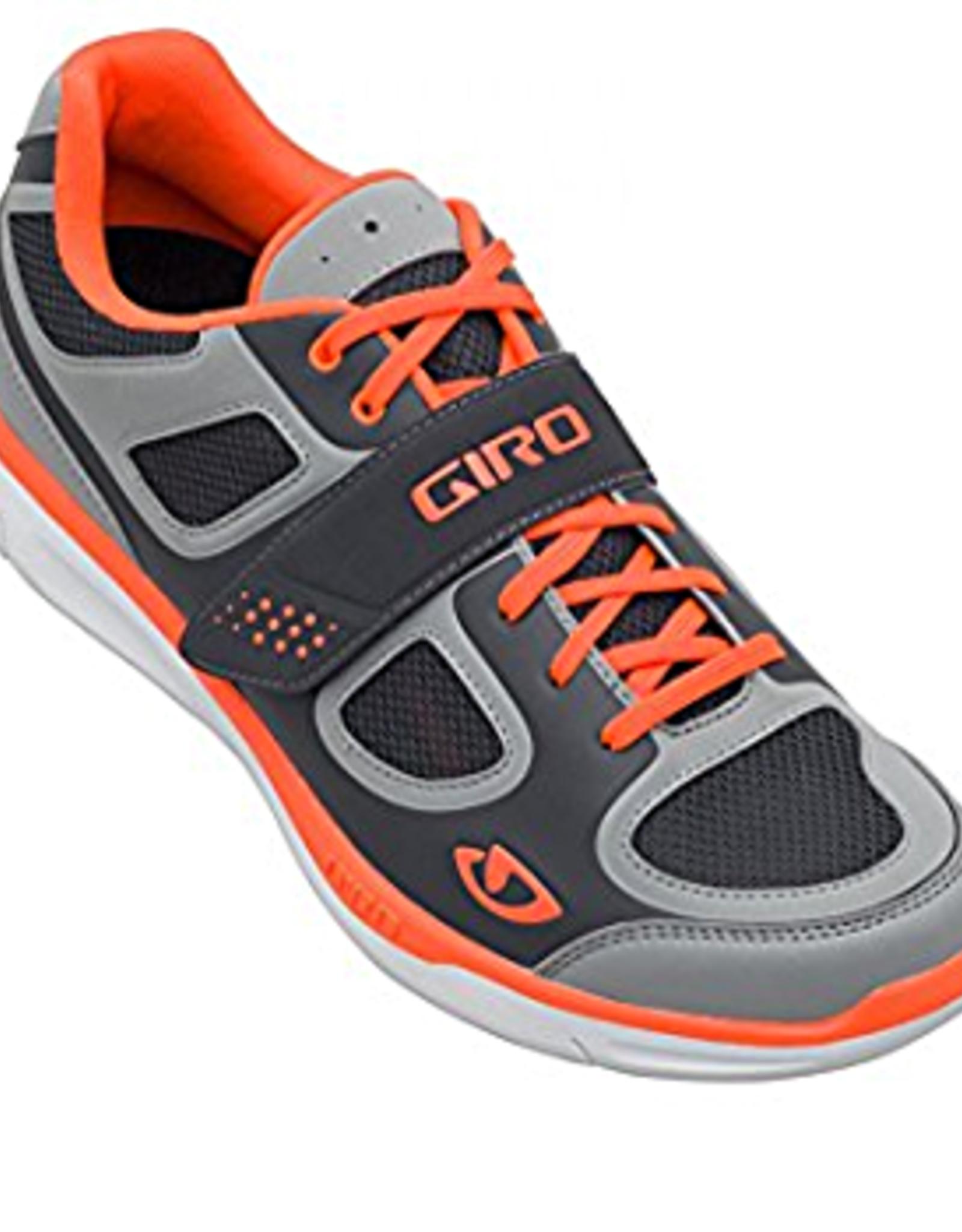 Giro Footwear - Souliers Giro GRYND Silver/Flo Orange 43