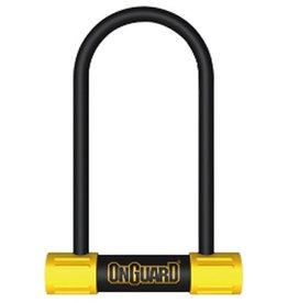 Onguard OnGuard, Bulldog Medium 8013M, U-Lock, 13mm x 90mm x 175mm ( 13mm x 3.5'' x 6.9'')