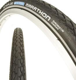 SCHWALBE Schwalbe Marathon Tire pneu - 700 x 30, Clincher, Wire, Black/Reflective ,Performance Line
