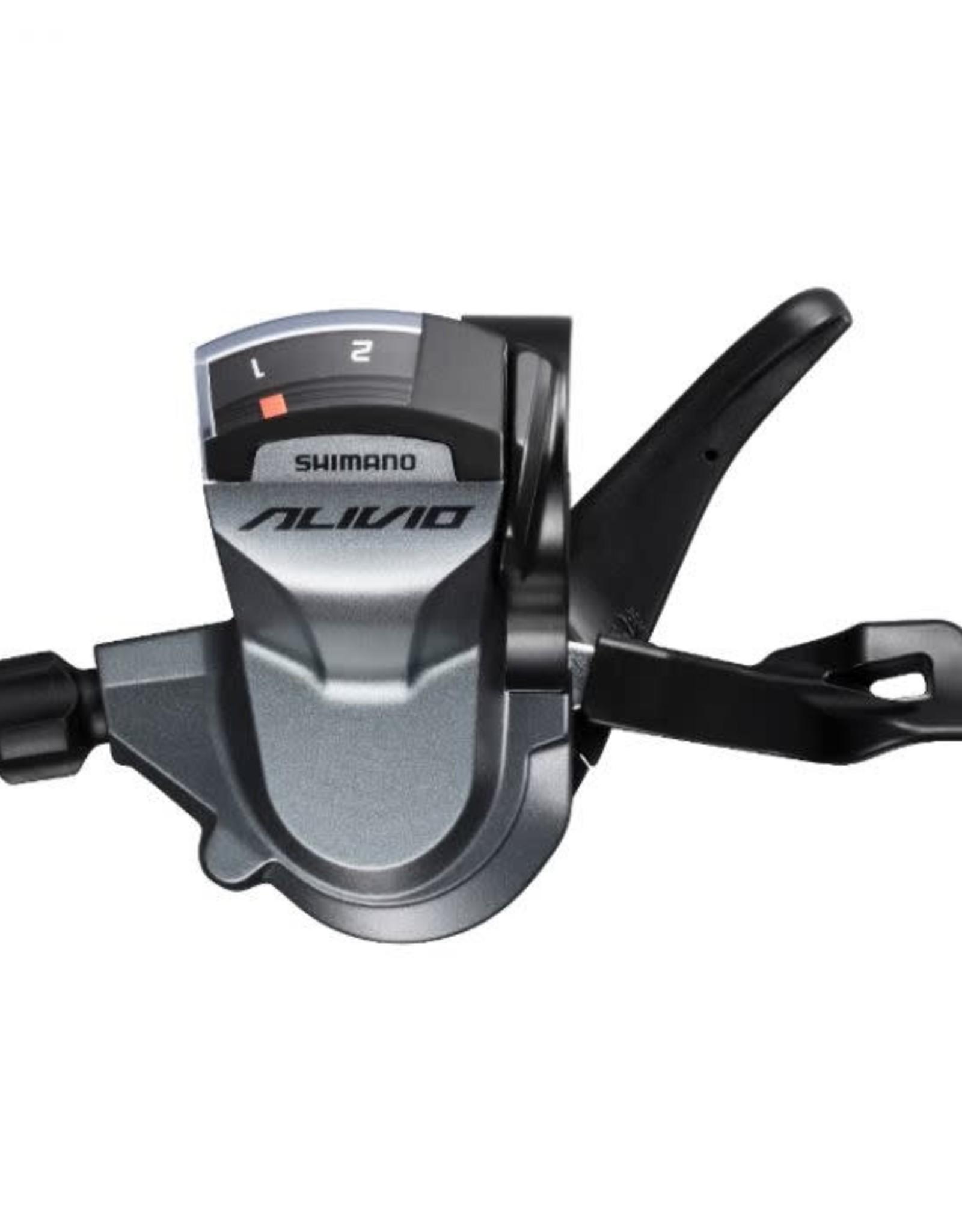 Shimano Shimano, Alivio SL-M4000, Levier de vitesses, 3vit, Avant