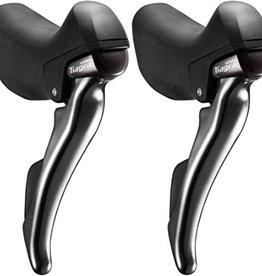 Shimano Shimano, Tiagra ST-4700, Shift/brake lever combo, 2x10sp, Pair