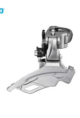 Shimano FRONT DERAILLEUR, FD-T4000, ALIVIO, TOP-SWING DUAL-PULL, FOR REAR 9-SPEED, BAND-TYPE 34.9M(W/31.8 & 28.6MM ADAPTER), FOR 44/48T, CS-ANGLE 63-66, IND.PACK