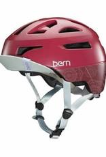 BERN Bern, Parker, Helmet, Satin Cranberry, M