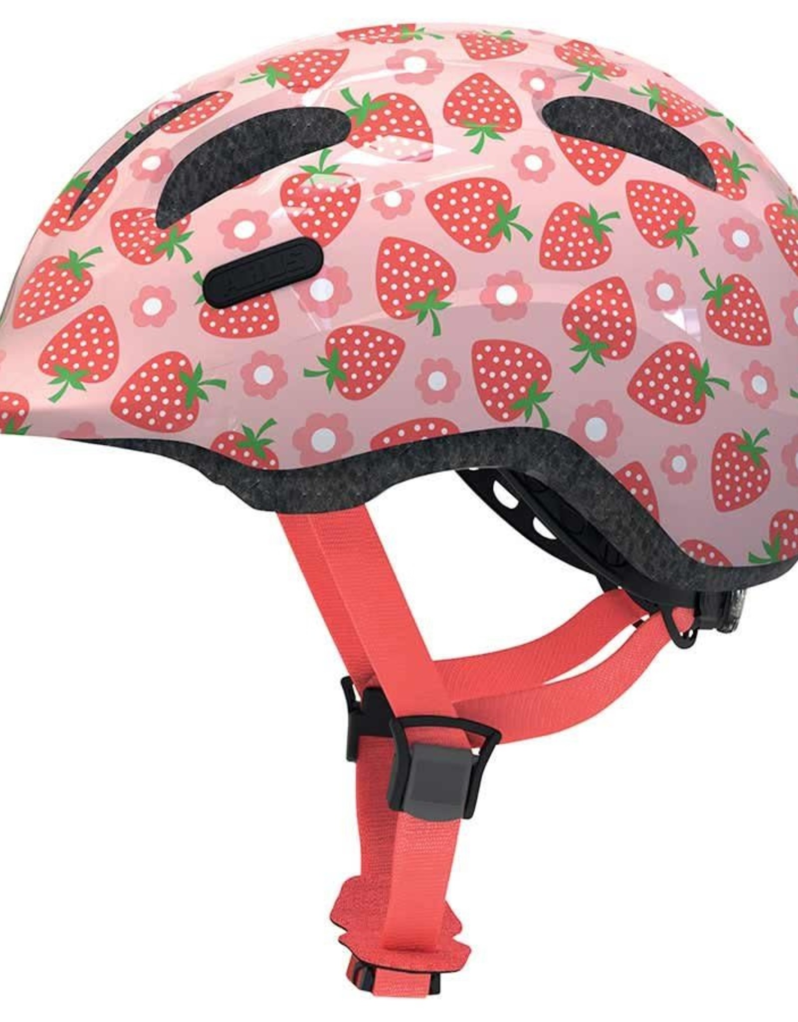 Abus Smiley 2.1, casque rose fraise