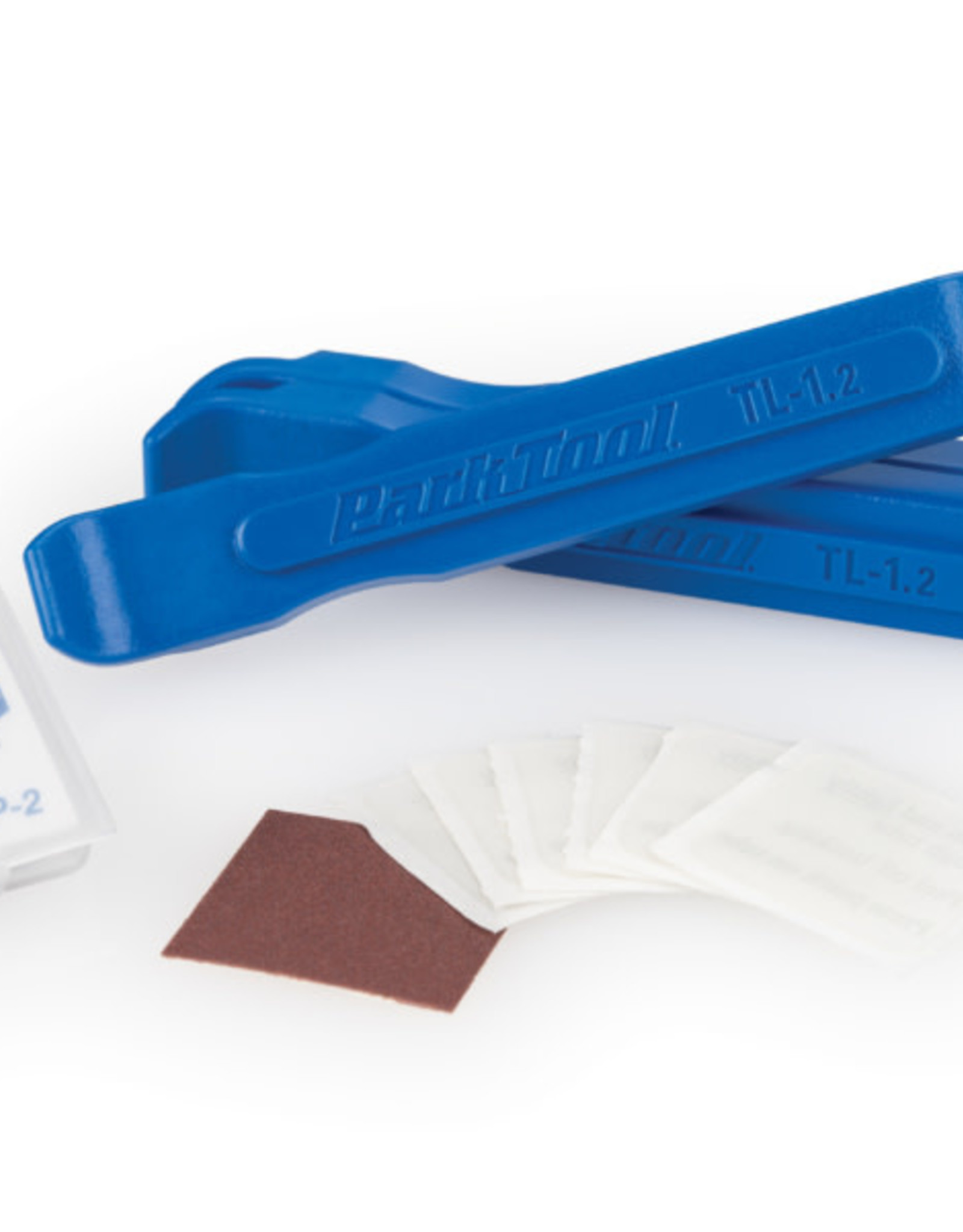 Park Tool Park Tool, TR-1, Kit of 6 pre-glued patches with 3 tire levers