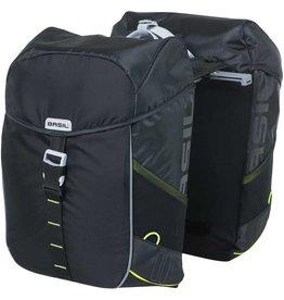 Basil Basil, Miles Duble Bag MIK, Duble bag, Black Slate