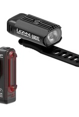 Lezyne, Hecto Drive 500XL / Strip, Light, Set, Black