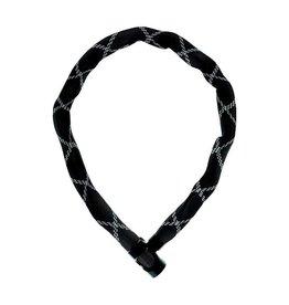 Abus, IvyTex 6210 cadenas chaine à clé, noir