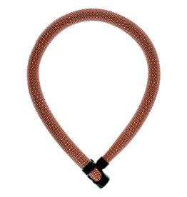 Abus, IvyTex 7210 cadenas chaine à clé, orange