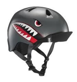 BERN Bern, Nino, Helmet, Satin Grey Flying Tiger