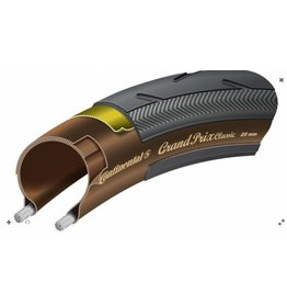 Continental Continental GRAND PRIX CLASSIC 700 x 25 Black-Transparent + Black Chili