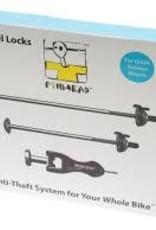Pin Head PINHEAD 2 PACK (2 WHEEL W/KEYS) LOCK