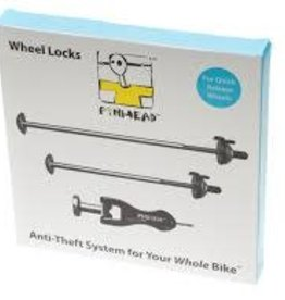 Pin Head PINHEAD 2 PACK (2 WHEEL W/KEYS) LOCK