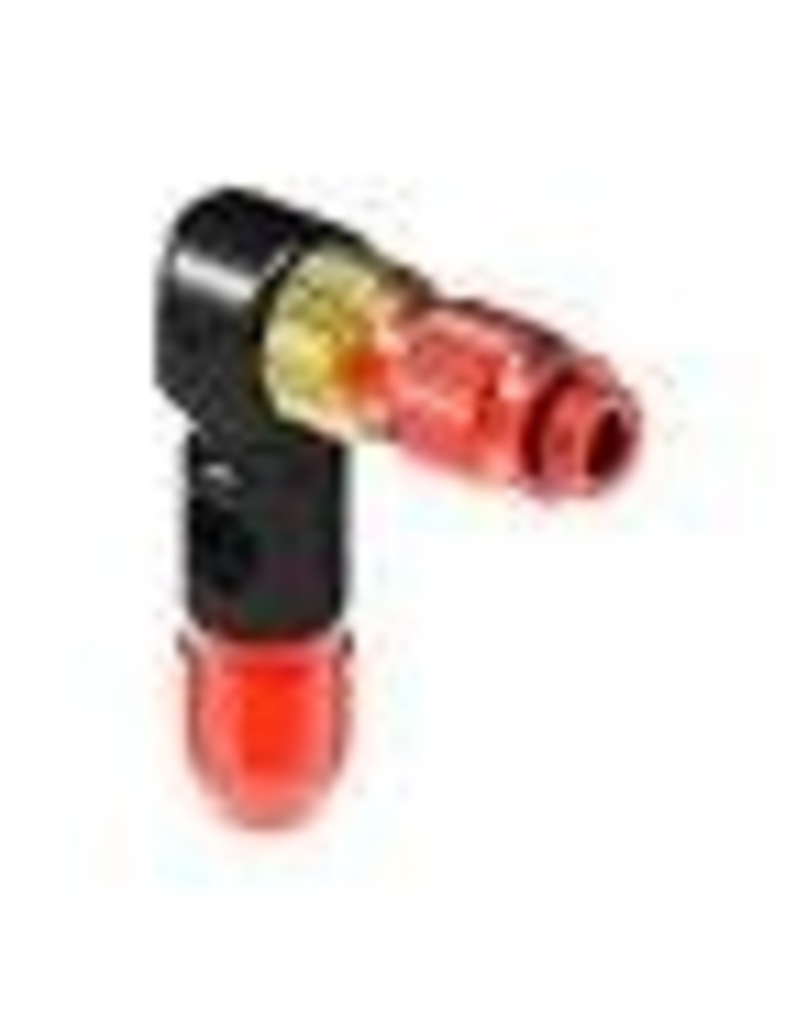 Lezyne, ABS-1 PRO HP, Tete de pompe, Rouge, Tressee