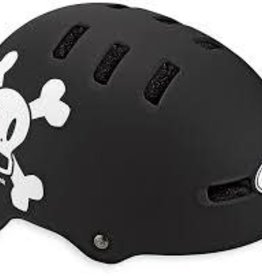 Bell Helmet - Casques FRACTION Matte Black/White Pf Skull XS