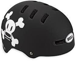 Bell Helmet - Casques FRACTION Matte Black/White Pf Skull XS