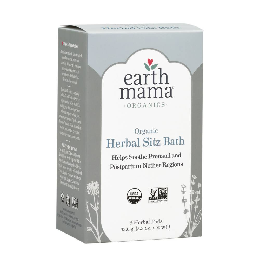 Earth Mama Organics Organic Herbal Sitz Bath