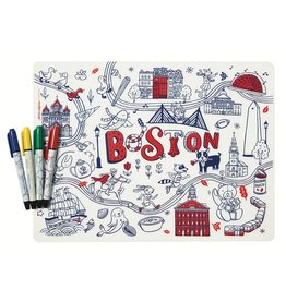Modern Twist Mark Mat + Markers Set- Boston