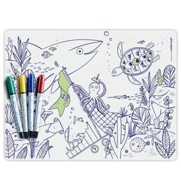 Modern Twist Mark Mat + Markers Set- Under The Sea