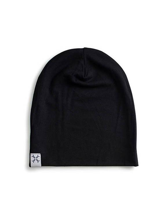 Jacqueline & Jac Black Infant Beanie