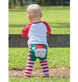 Doodle Pants Santa Leggings