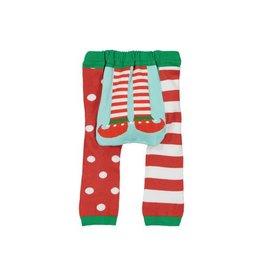 Doodle Pants Holiday Elf Feet Leggings