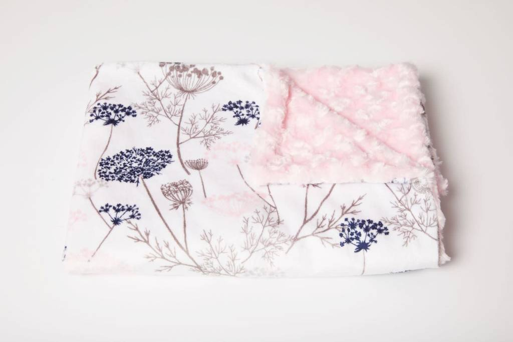 Tourance Baby Blanket- Classsic Paris Garden