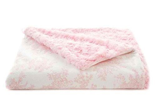 Tourance Baby Blanket- Pink Toile