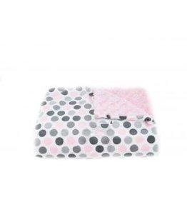 Tourance Baby Blanket- Mod Dot Pink