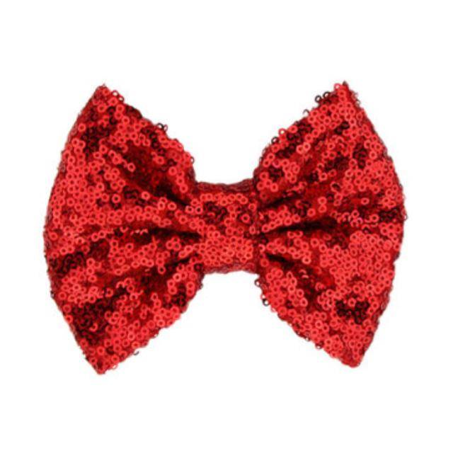 TIny Trendsetter Tiny Red Sequin Hair Clip