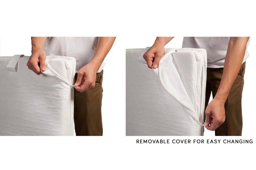 Babyletto Pure Core Mini Crib Mattress w/ Hybrid Cover