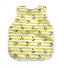 BapronBaby Lemon Stripe Anchors