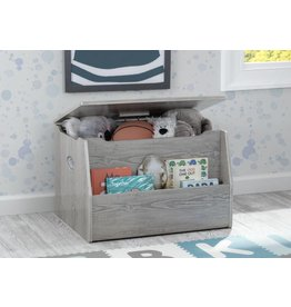 Delta Childrens Nolan Toy Chest- Crafted Limestone