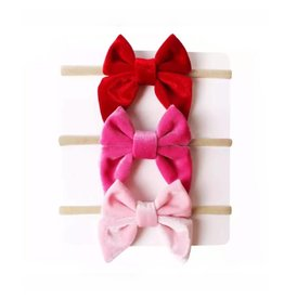 TIny Trendsetter Samantha Bow Headband 3 Piece Set