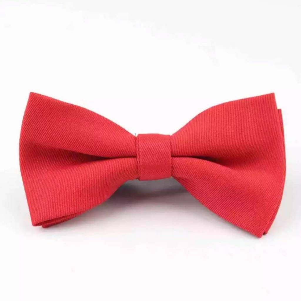 Tiny Trendsetter Kids Red Bowtie 6mo-12 years