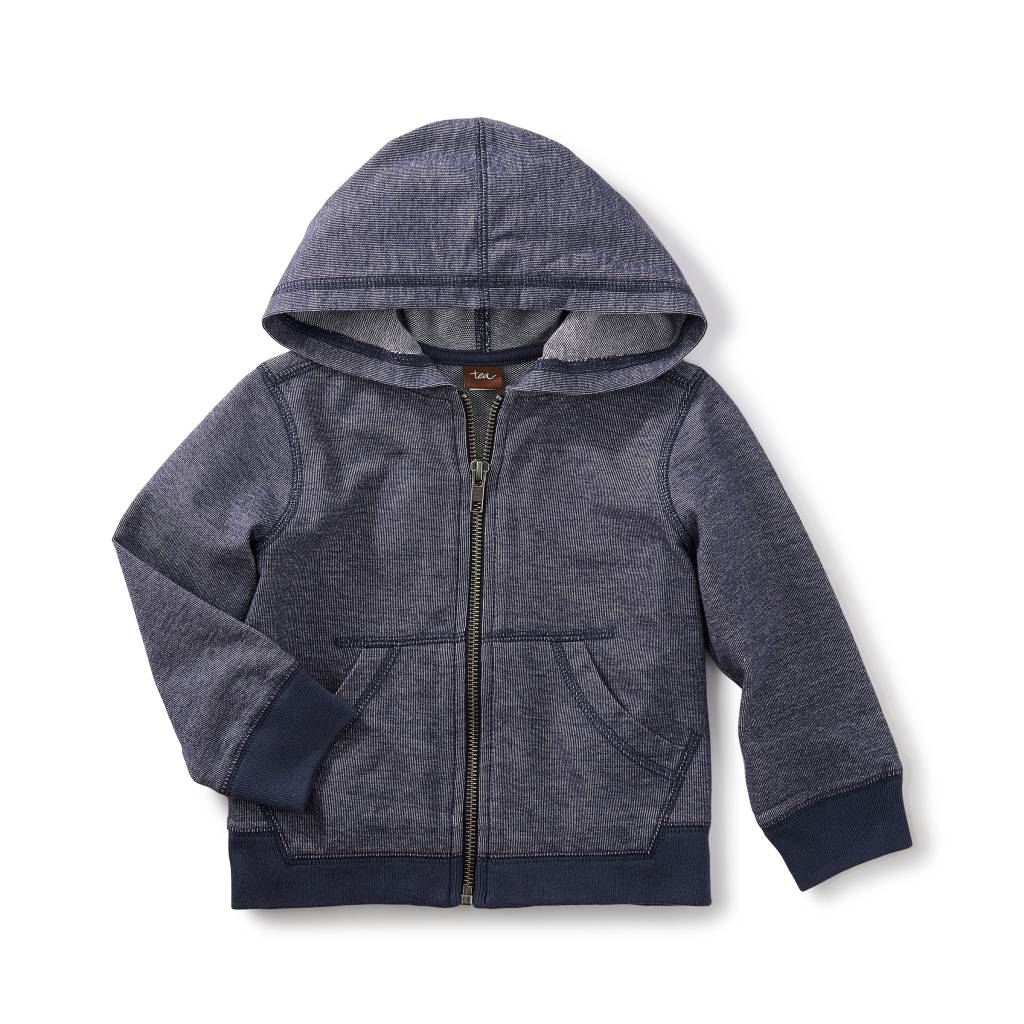Tea Collection Seaside Zip Baby Hoodie