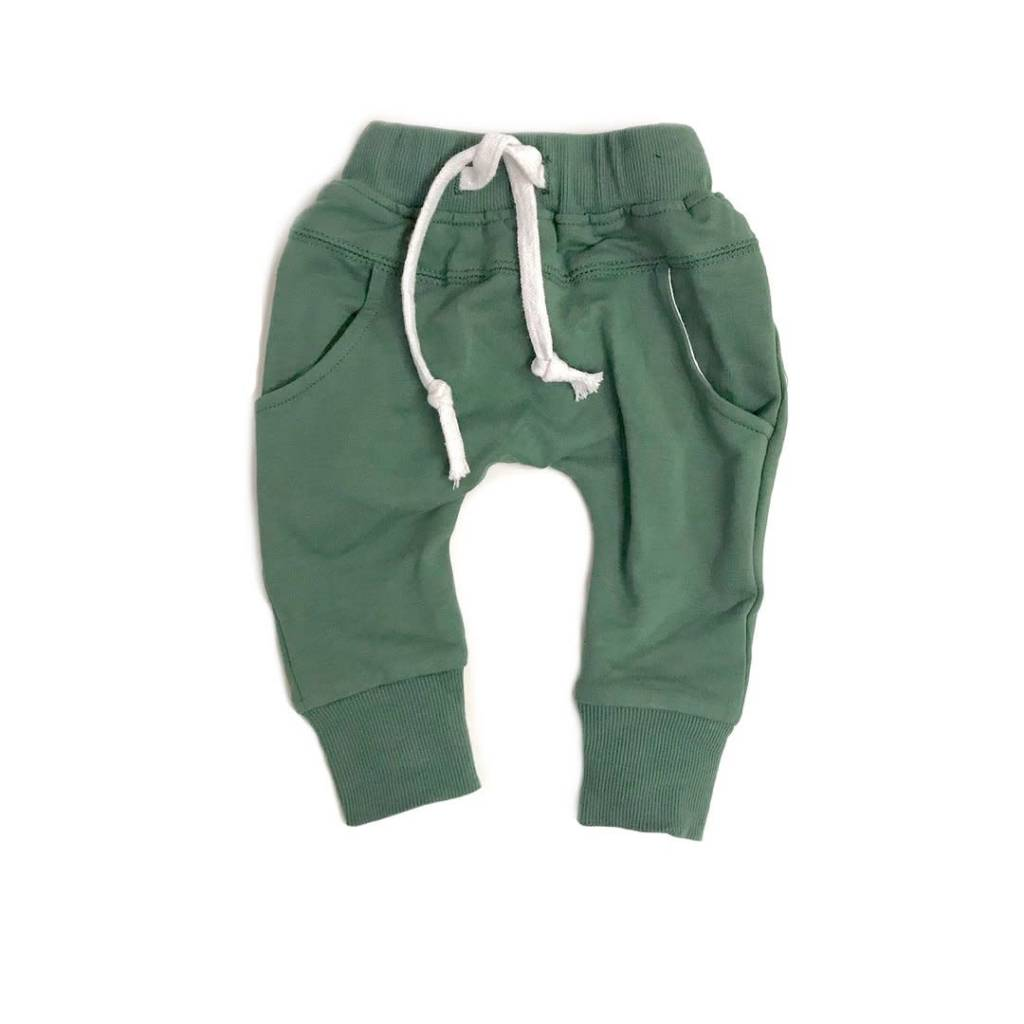 Little Bipsy New LB Jogger- Sage Green