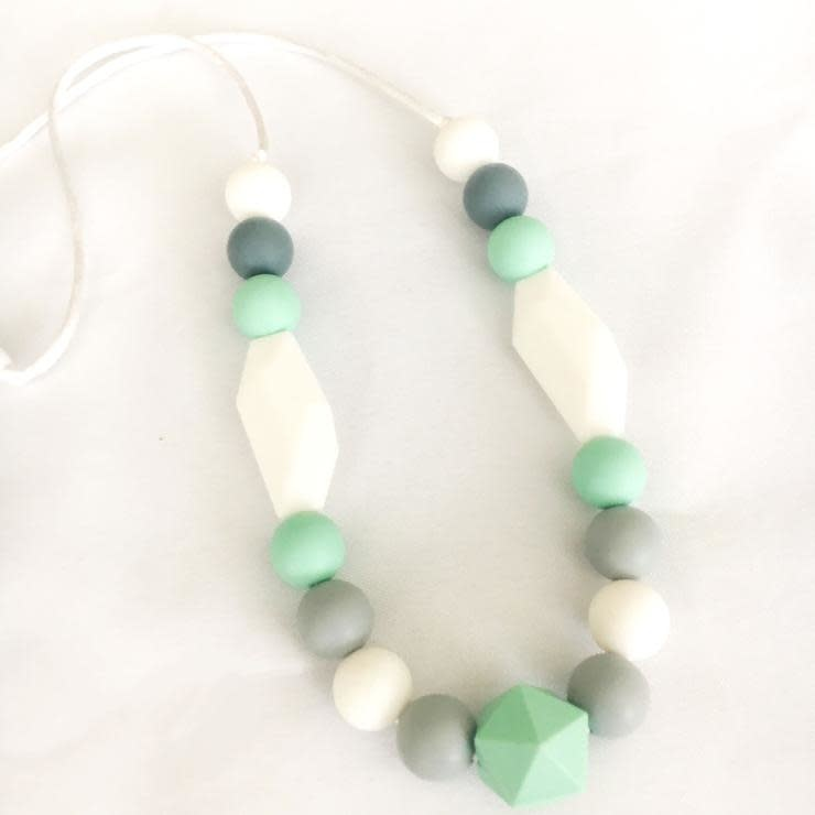 Chelsea and Marbles Poppy Necklace
