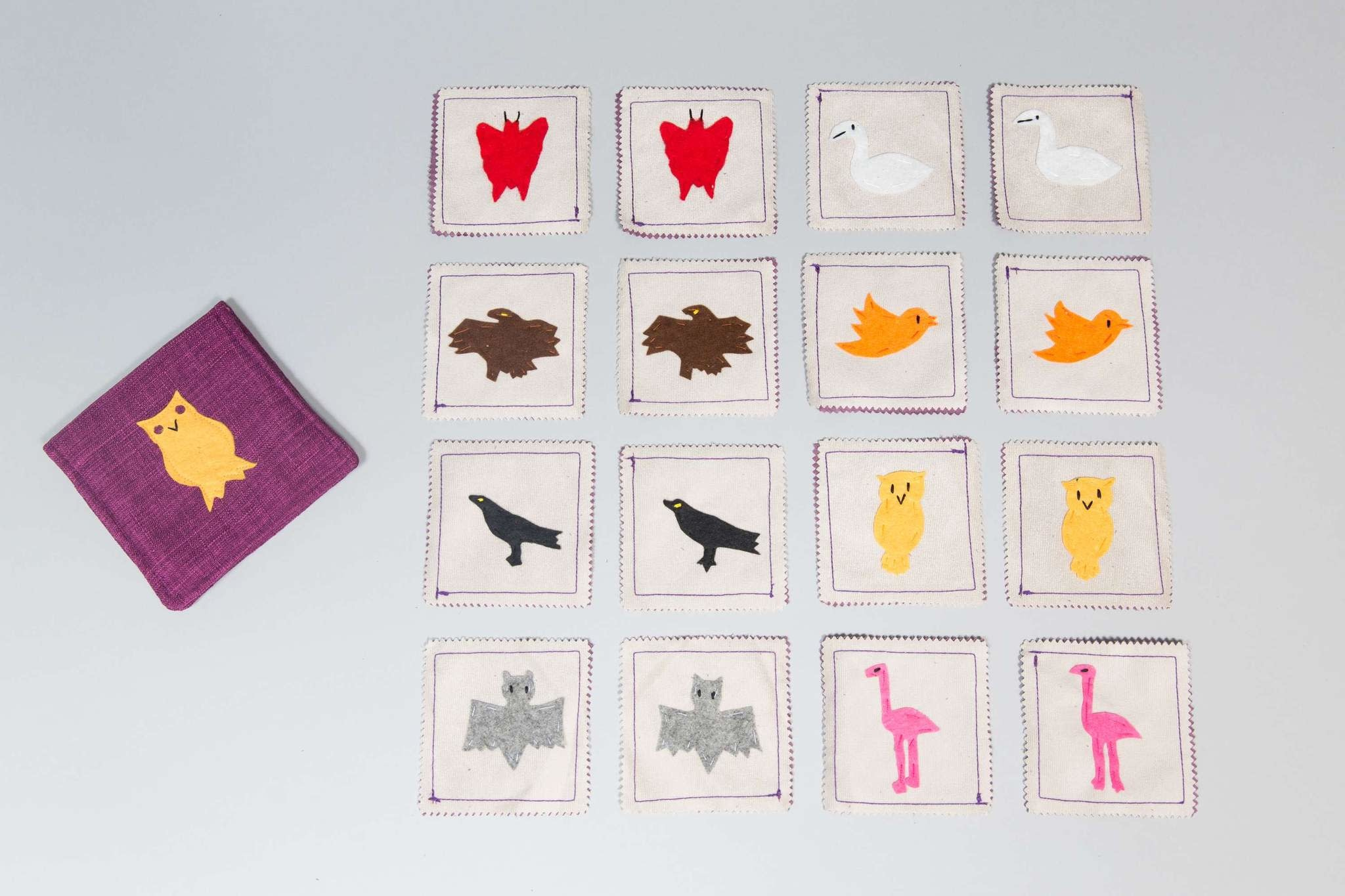 Air Animals Matching Memory Game
