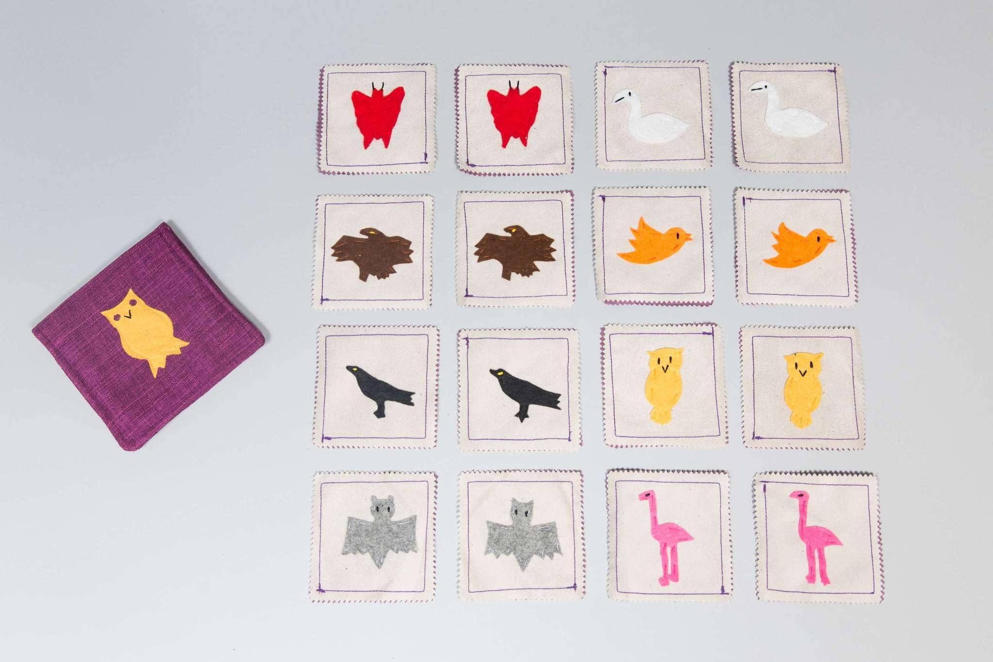 Zeki Learning Air Animals Matching Memory Game
