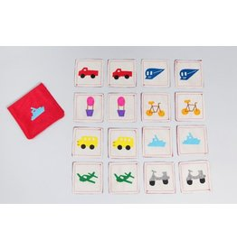 Zeki Learning Transportation Matching Memory Game