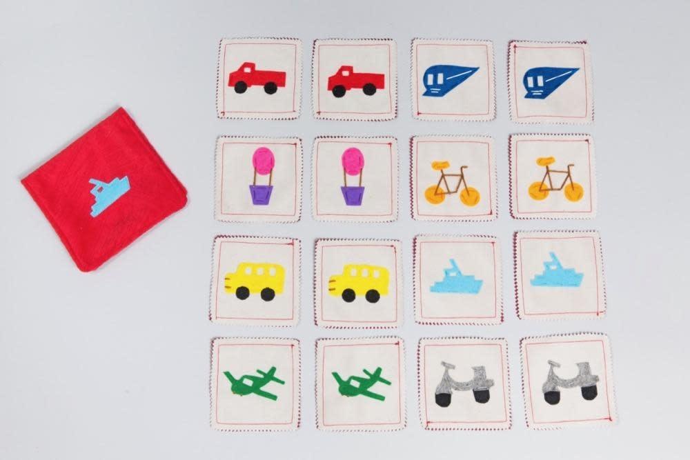 Transportation Matching Memory Game