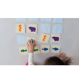 Zeki Learning Water Animal Matching Memory Game