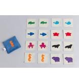 Zeki Learning Water Animal Matching Memory Game