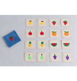 Zeki Learning Fruit Matching Memory Game