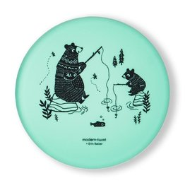 Modern Twist Meal Set- Bear Family, Mint