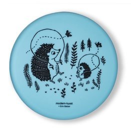 Modern Twist Meal Set- Hedgehog, Cornflower