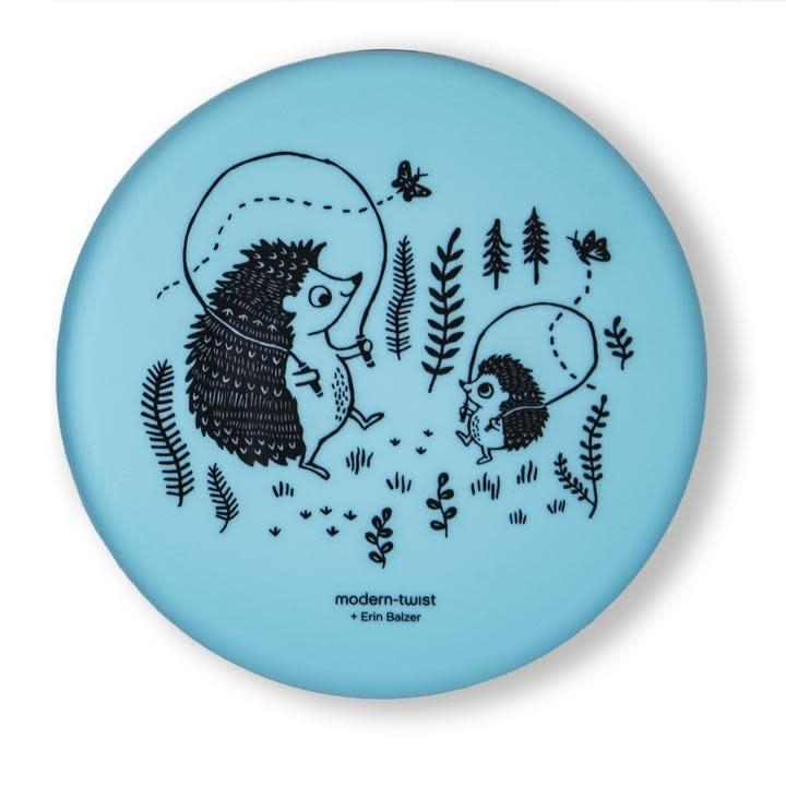 Modern Twist Meal Set- Hedgehog, Cornflower