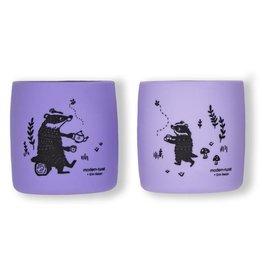 Modern Twist Sip Set- Badger, Lavender